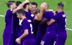 La Fiorentina vince con il Carpi (0-1) e vola al terzo posto. Gol di Babacar. Pagelle