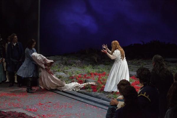 """Opera di Firenze. Prova generale dell'opera """"Lucia di Lammermoor"""" con Jessica Pratt."""