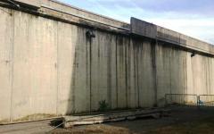 Firenze, carcere di Sollicciano: crolla un pezzo di muro