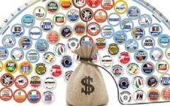 Finanziamento ai Partiti: crescono i versamenti del 2 per mille. Nel 2015 superati i 9 milioni