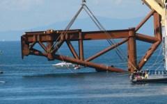 Isola del giglio, sparisce dal mare l'ultima traccia della Concordia: rimosse le piattaforme