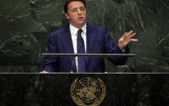 Onu: Renzi annuncia la creazione dei 'caschi blu della cultura'. Il contributo italiano alle operazioni di pace