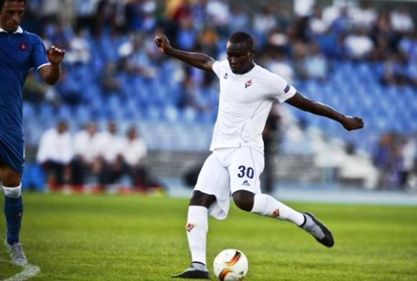 Babacar, il primo a scendere in campo con la sua nazionale (Senegal) contro l'Egitto