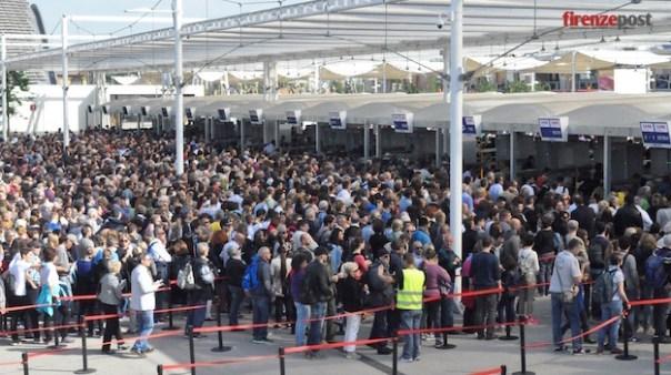 Code di ore all'Expo 2015