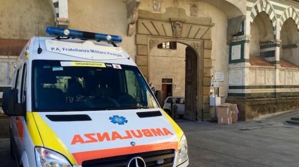 L'ingresso della Fratellanza Militare in piazza Santa maria Novella