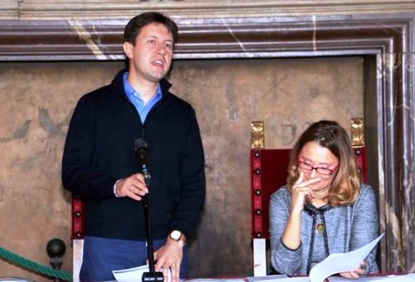 Il sindaco Dario Nardella con l'assessore Nicoletta Mantovani