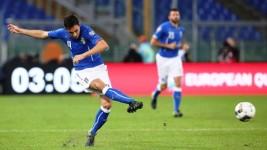 Italia-Norvegia, Matteo Darmian in azione