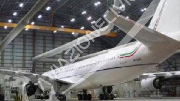 Il nuovo aereo della Presidenza del Consiglio