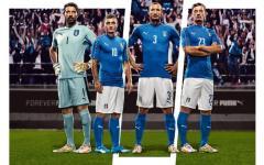 Europei 2016, ecco le nuove maglie dell'Italia. E il 10 novembre niente messa del Papa: c'è l'allenamento