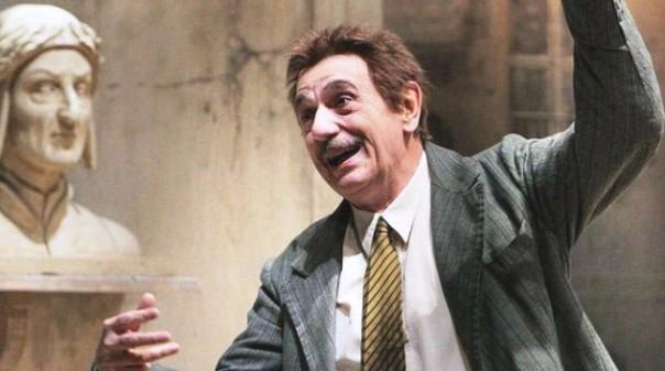 Luca De Filippo in scena, è morto venerdì scorso 27 novembre