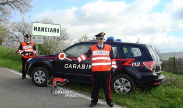 I Carabinieri di Manciano