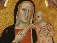 Madonna Sarti di Andrea di Nerio, XIV secolo
