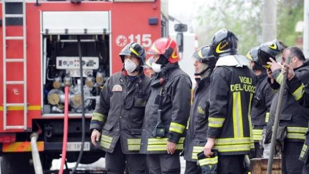 Sono intervenuti i vigili del fuoco