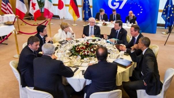Ultimi vertice del G7 (esclusa la Russia)
