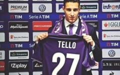 Fiorentina, Tello è arrivato. Pronto all'esordio domenica contro il Genoa
