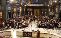 L'interno della chiesa di San Gaetano, in piazza Antinori, a Firenze