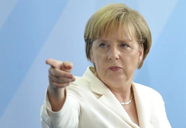 La cancelliera tedesca Angela Merkel