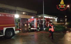 Scandicci: incendio nel deposito di Linea. Distrutti dal fuoco sei bus