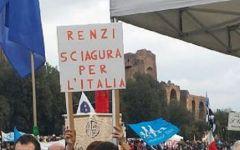 Family day:  due milioni in piazza a Roma. Slogan contro Renzi e Cirinnà. L'avvertimento: ci ricorderemo di voi alle elezioni