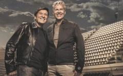 A Claudio Baglioni e Gianni Morandi le Chiavi di Firenze. La consegna dal sindaco Dario Nardella