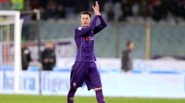 Fiorentina-Tottenham, Federico Bernardeschi (foto Twitter - Calciomercato.com @cmdotcom)