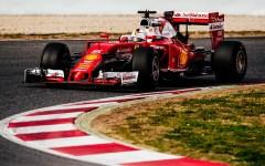 Ferrari, primi test a Montmelò: Vettel gira in 1.24.939
