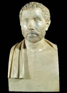 Ritratto di Geta, figlio dell'imperatore romano Settimo Severo