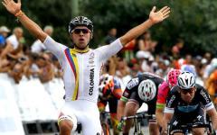 Ciclismo,Tirreno Adriatico: Fernando Gaviria Rendon vince in volata a Montalto di Castro