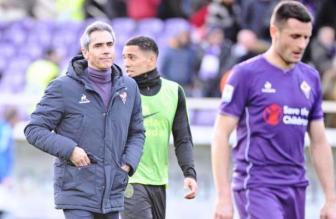 L'allenatore della Fiorentina, Paulo Sousa