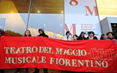 Maggio musicale e Fondazioni liriche: sciopero e corteo dei lavoratori di tutt'Italia, a Firenze, lunedì 27 marzo. Percorso