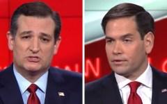 Primarie usa: repubblicani, avanzano Marcus Rubio e Ted cruz, ma Donald Trump resta in testa