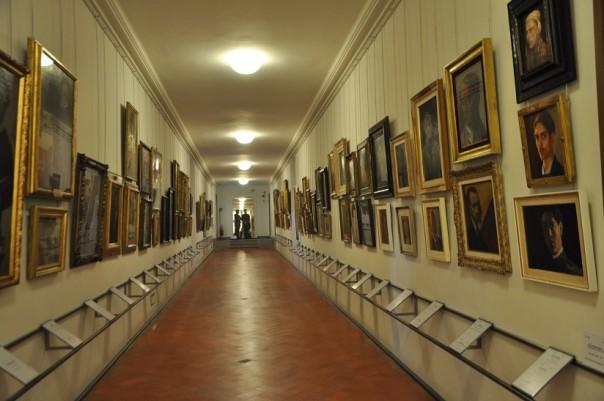 Il Corridoio Vasariano, la Galleria degli autoritratti d'artista