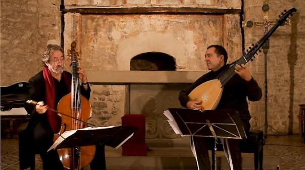 Jordi Savall e Xavier Díaz-Latorre