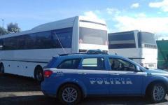 Capannori: Polizia stradale blocca la gita scolastica, il bus non è assicurato