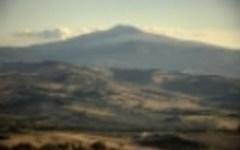 Maltempo: neve sull'Amiata, temperature a -4,5°
