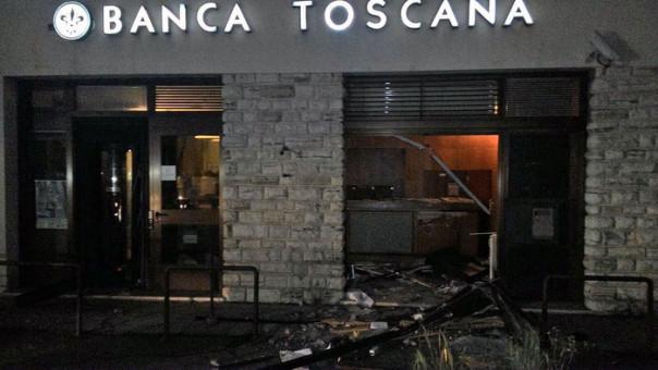 Tentao furto Bancomat provincia Lucca