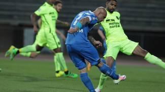 Il gol di Maccarone, a segno per la dodicesima volta in questo campionato