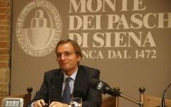 Il presidente di Banca Monte dei Paschi di Siena, Massimo Tononi