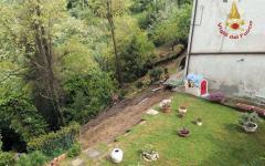Maltempo, San Miniato (Pi): evacuate due abitazioni con sette persone. Gli stabili minacciati da una frana