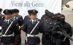 Roma: celebrata la festa della polizia (164mo anniversario dalla fondazione) alla presenza del Capo dello Stato