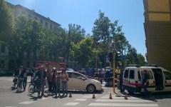 Firenze: auto falcia una donna, uccidendola, e travolge altri due passanti. E' successo nel viale Matteotti. Traffico nel caos
