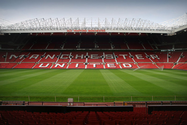 L'Old Trafford, mitico stadio del Manchester United