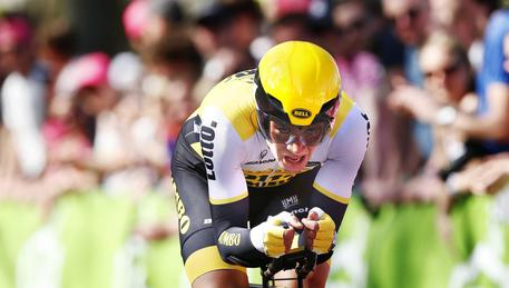 Lo sloveno Roglic, vincitore della cronometro del Chianti Classico, 9/a tappa del Giro d'Italia