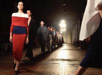 Models present a creation of Italian label Lucio Vanotti during 90th edition of Pitti Immagine Uomo, in Florence, Italy, 16 June 2016. Pitti Immagine Uomo runs from 13 to 17 June 2016.  ANSA/MAURIZIO DEGL INNOCENTI
