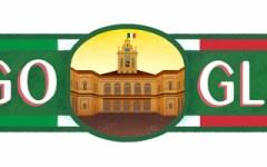 2 giugno 2016: Google celebra la repubblica con un doodle tricolore