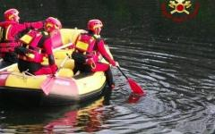 Recuperato cadavere uomo in fiume Bisenzio a Prato  vigili fuoco sommozzatori