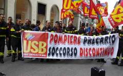 Sicurezza: domani 11 luglio sciopero dei vigili del fuoco