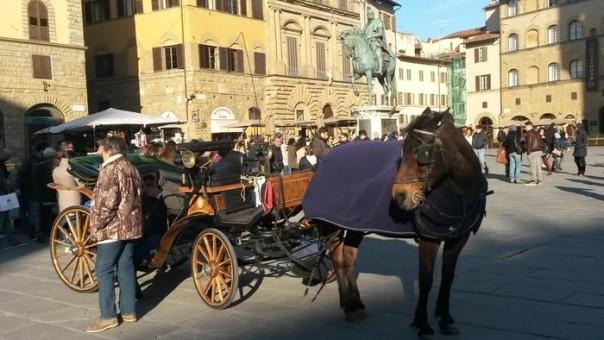 Fiaccherai fiaccheraio carrozzella Firenze
