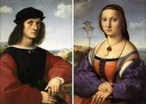 Raffaello, Coniugi Doni, Galleria Palatina di Palazzo Pitti