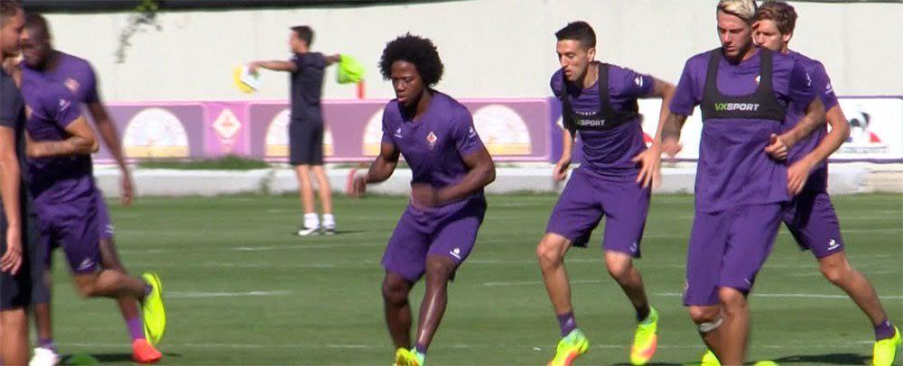 Calos Sanchez, pronto a giocare nonostante il lungo viaggio di ritorno dal Sud America